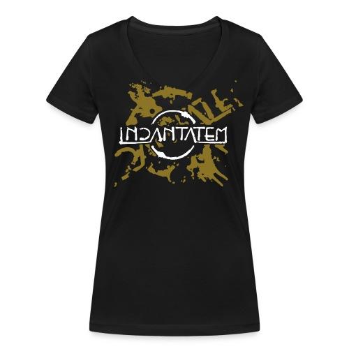 Incantatem Splatter Shirt - Frauen Bio-T-Shirt mit V-Ausschnitt von Stanley & Stella