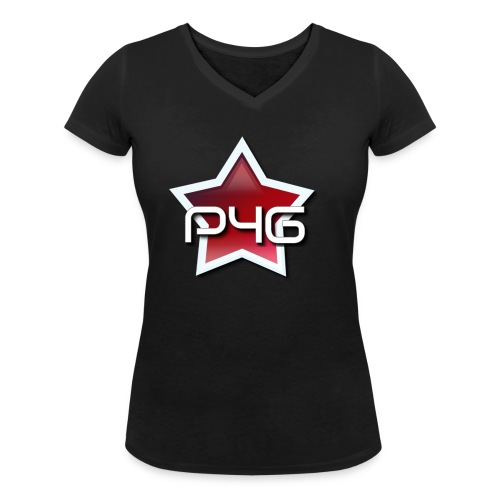 logo P4G 2 5 - T-shirt bio col V Stanley & Stella Femme