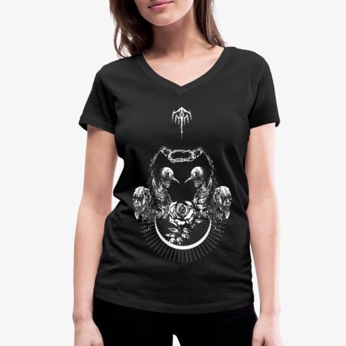 Nocturn design 2 - T-shirt bio col V Stanley & Stella Femme