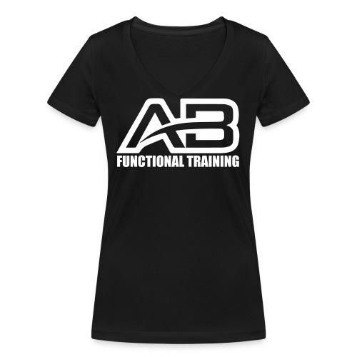 DEF_AB_DARK_BACKGROUND - T-shirt ecologica da donna con scollo a V di Stanley & Stella