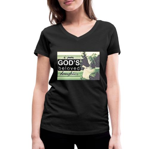946CAFFE 8624 4E8E 9BB9 ECD561D0D283 - Økologisk Stanley & Stella T-shirt med V-udskæring til damer
