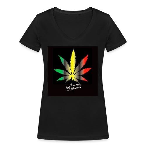 Untitled design Custom dimensions Instagram post - T-shirt ecologica da donna con scollo a V di Stanley & Stella