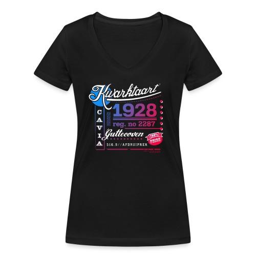 Kwarktaart - Vrouwen bio T-shirt met V-hals van Stanley & Stella