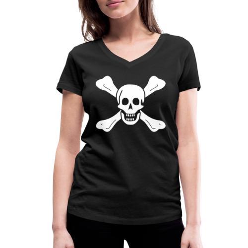 Richard Worley Flag - T-shirt bio col V Stanley & Stella Femme