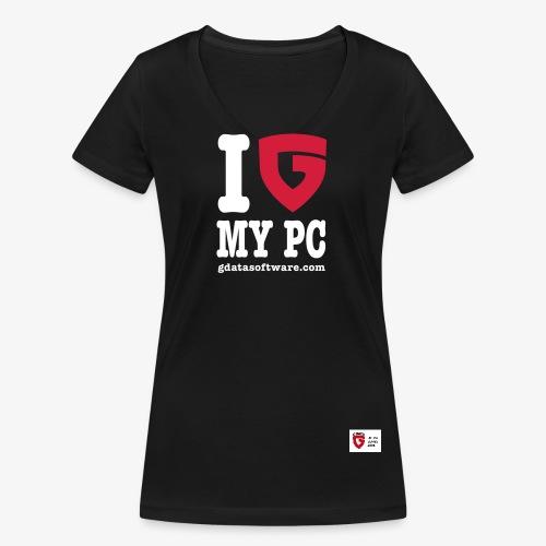 RS2008 - Frauen Bio-T-Shirt mit V-Ausschnitt von Stanley & Stella