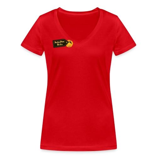 PPB_ORG-01 - Stanley & Stellan naisten v-aukkoinen luomu-T-paita