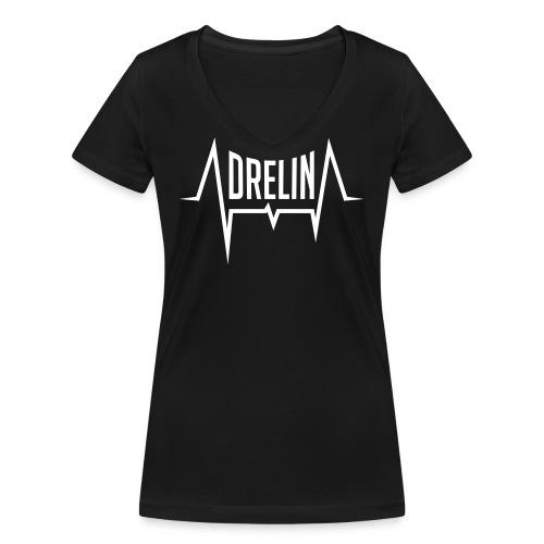 adrelina logo - Vrouwen bio T-shirt met V-hals van Stanley & Stella