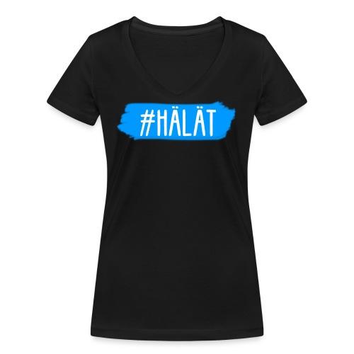 Design Hälät png - Frauen Bio-T-Shirt mit V-Ausschnitt von Stanley & Stella