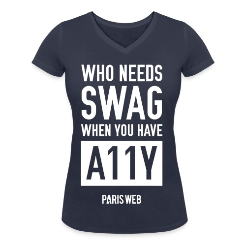 swag - T-shirt bio col V Stanley & Stella Femme