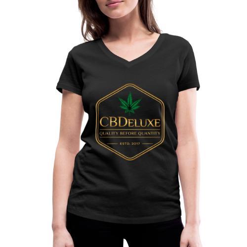 CBDeluxe - Frauen Bio-T-Shirt mit V-Ausschnitt von Stanley & Stella