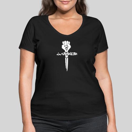 warrior for christ - Kämpfer für Jesus - Frauen Bio-T-Shirt mit V-Ausschnitt von Stanley & Stella