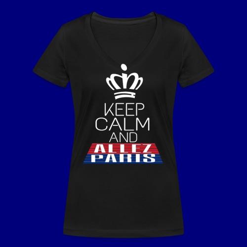 Keep Calm - T-shirt bio col V Stanley & Stella Femme