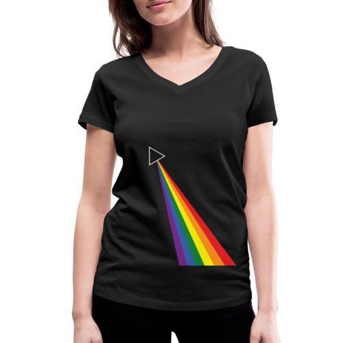 Darkside - Stanley & Stellan naisten v-aukkoinen luomu-T-paita