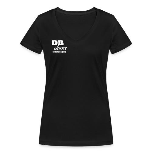 drjamslogo - Women's Organic V-Neck T-Shirt by Stanley & Stella