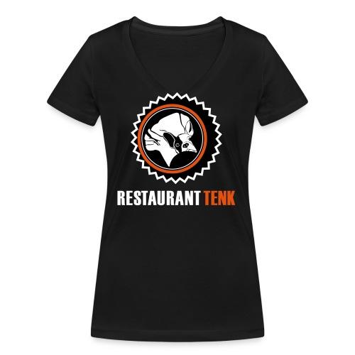T Shirt TENK 2 - Frauen Bio-T-Shirt mit V-Ausschnitt von Stanley & Stella