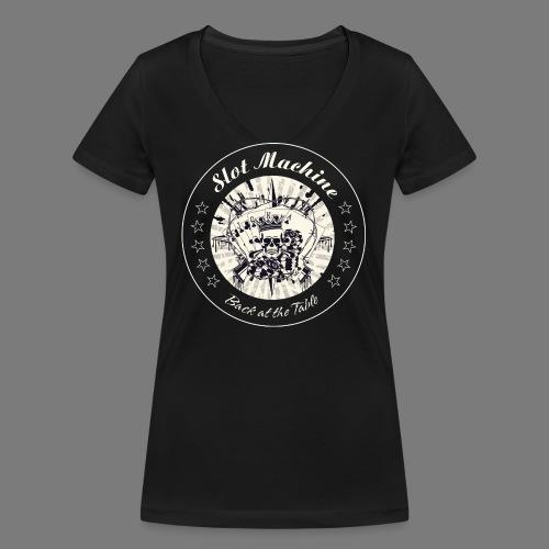 BATT - Gambler-King - cre - Frauen Bio-T-Shirt mit V-Ausschnitt von Stanley & Stella
