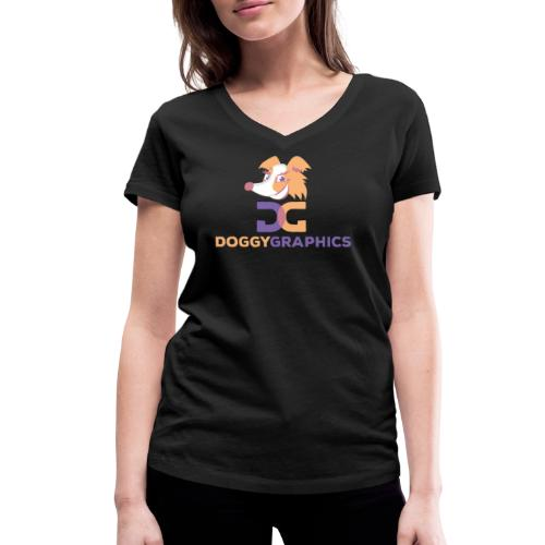Choose Product & Print Any Design - Women's Organic V-Neck T-Shirt by Stanley & Stella