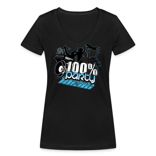 ytergloedtryck - Ekologisk T-shirt med V-ringning dam från Stanley & Stella
