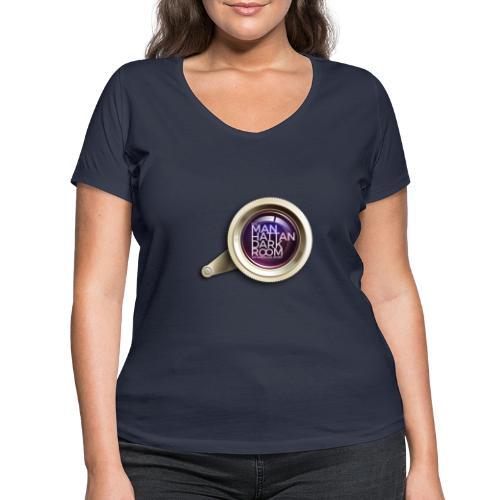 THE MANHATTAN DARKROOM OBJECTIF 2 - T-shirt bio col V Stanley & Stella Femme