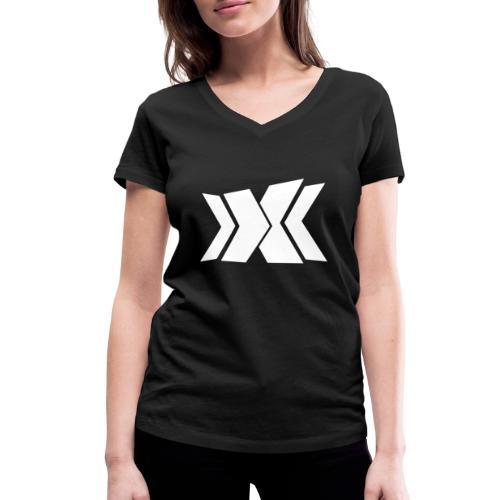 RLC Weiß - Frauen Bio-T-Shirt mit V-Ausschnitt von Stanley & Stella