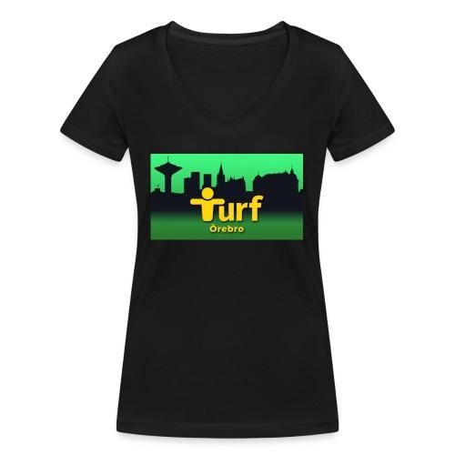 Turf Örebro - Ekologisk T-shirt med V-ringning dam från Stanley & Stella