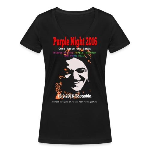 13 8 purplenight 2016 tpaita gif - Stanley & Stellan naisten v-aukkoinen luomu-T-paita