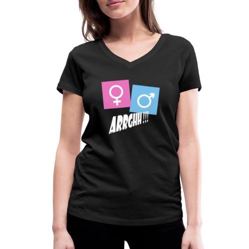 Kønsstereotyper argh - Økologisk Stanley & Stella T-shirt med V-udskæring til damer