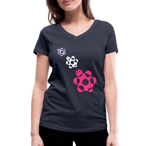 tartarughe - T-shirt ecologica da donna con scollo a V di Stanley & Stella
