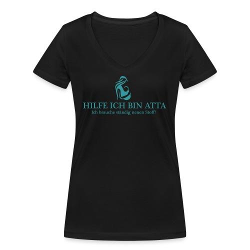 atta3 - Frauen Bio-T-Shirt mit V-Ausschnitt von Stanley & Stella