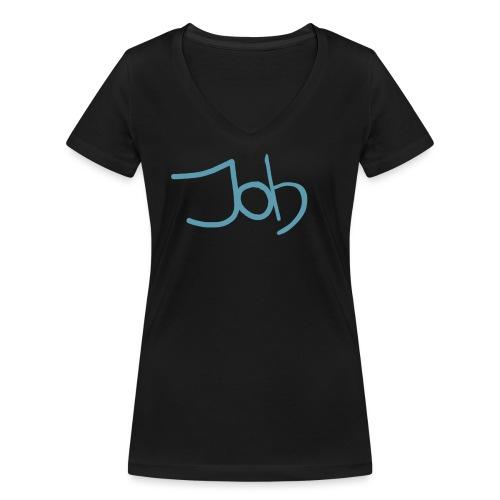 Job - Vrouwen bio T-shirt met V-hals van Stanley & Stella