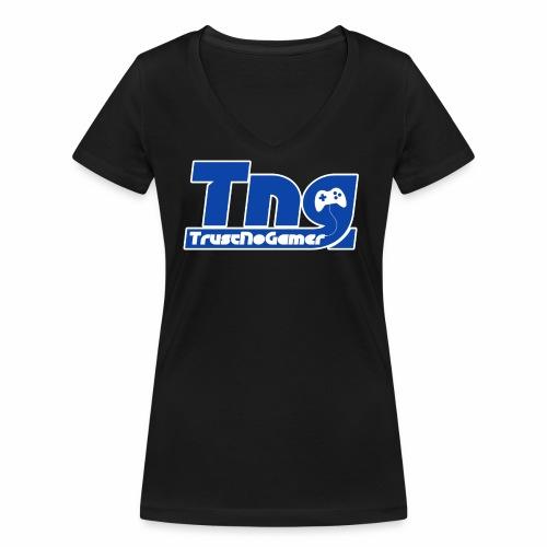 merchandising TrustNoGamer - T-shirt ecologica da donna con scollo a V di Stanley & Stella