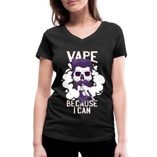 Vape - MOMO - Frauen Bio-T-Shirt mit V-Ausschnitt von Stanley & Stella