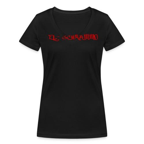 Elschrammo streetwear - Frauen Bio-T-Shirt mit V-Ausschnitt von Stanley & Stella