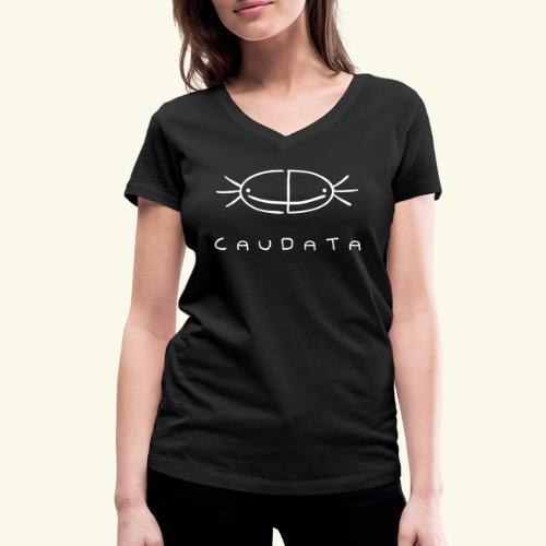 CAUDATA Essential - Women's Organic V-Neck T-Shirt by Stanley & Stella