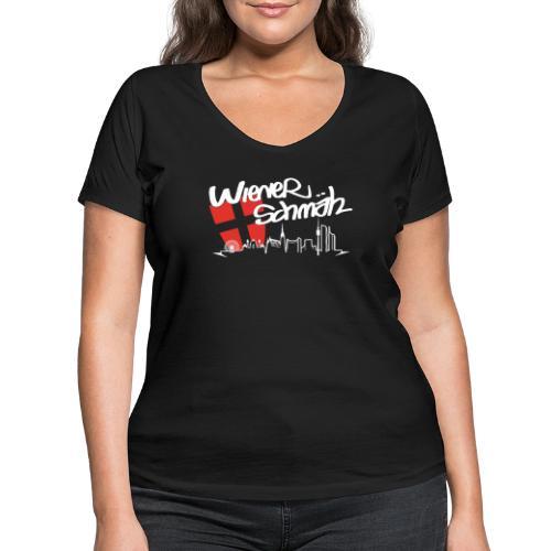 WienerSchmäh Altes Design - Frauen Bio-T-Shirt mit V-Ausschnitt von Stanley & Stella