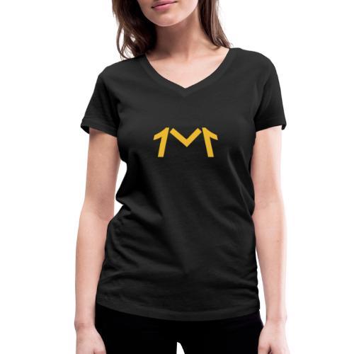 1M, LE LOGO DE L'UNIVERS - T-shirt bio col V Stanley & Stella Femme