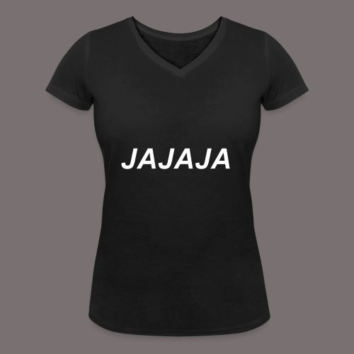Ja - Frauen Bio-T-Shirt mit V-Ausschnitt von Stanley & Stella