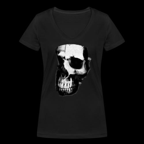 teschio darktrasp - T-shirt ecologica da donna con scollo a V di Stanley & Stella