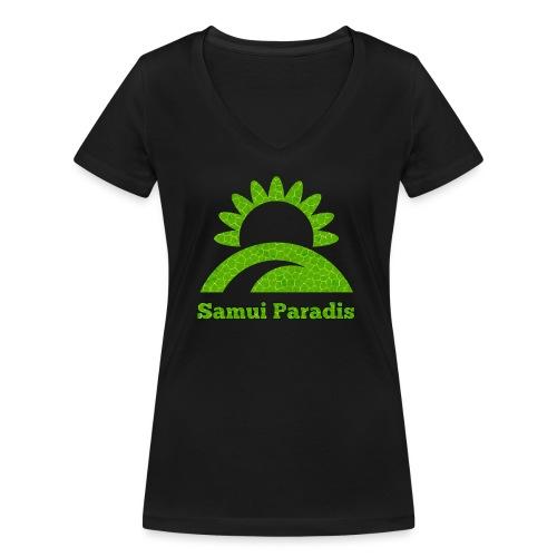 Logopit 1522878062036 1 - T-shirt bio col V Stanley & Stella Femme