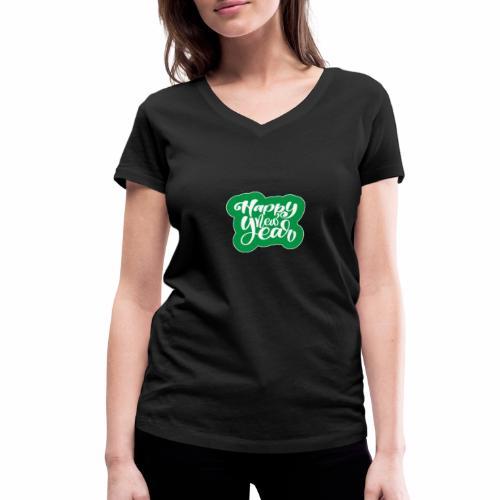 flubbers new year - Frauen Bio-T-Shirt mit V-Ausschnitt von Stanley & Stella