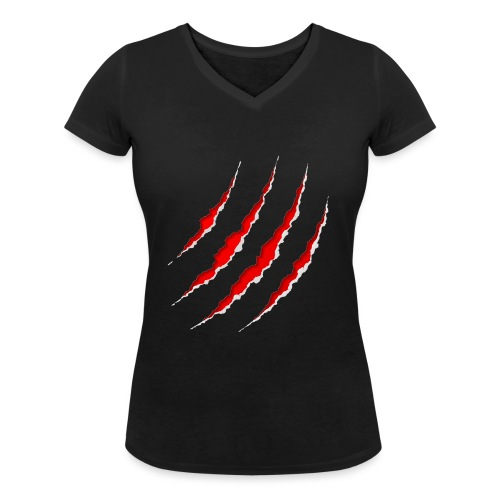Scars - Økologisk Stanley & Stella T-shirt med V-udskæring til damer