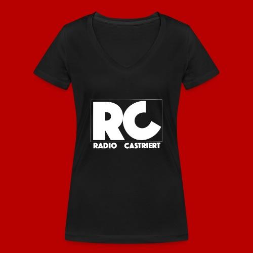 Radio CASTriert 2017/2018 - Frauen Bio-T-Shirt mit V-Ausschnitt von Stanley & Stella