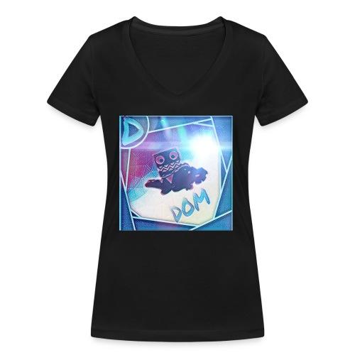 DOM - Women's Organic V-Neck T-Shirt by Stanley & Stella