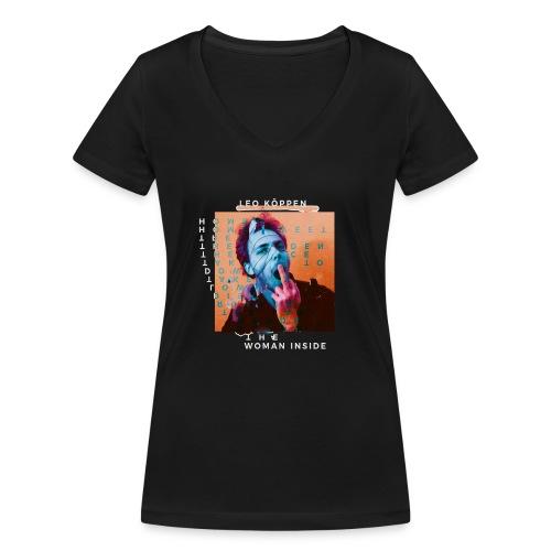 SHIRT4 - Frauen Bio-T-Shirt mit V-Ausschnitt von Stanley & Stella