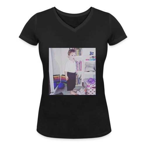IMG 0943 - Women's Organic V-Neck T-Shirt by Stanley & Stella