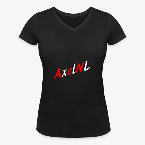 AxelNL - ROOD - Vrouwen bio T-shirt met V-hals van Stanley & Stella