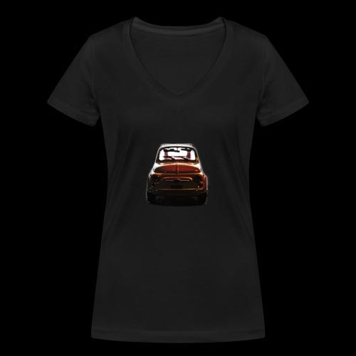 500gold - T-shirt ecologica da donna con scollo a V di Stanley & Stella