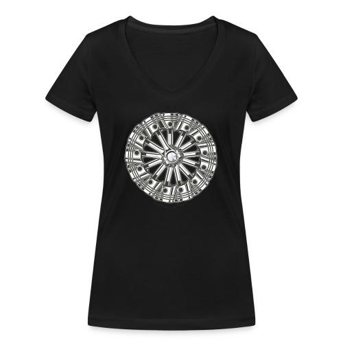 zuiger rol - Vrouwen bio T-shirt met V-hals van Stanley & Stella