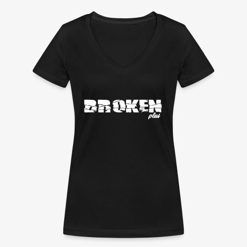 broken plus - T-shirt bio col V Stanley & Stella Femme
