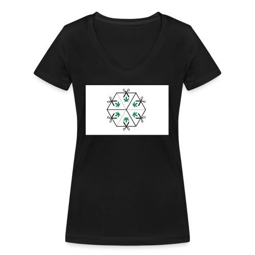 HighCube - T-shirt ecologica da donna con scollo a V di Stanley & Stella